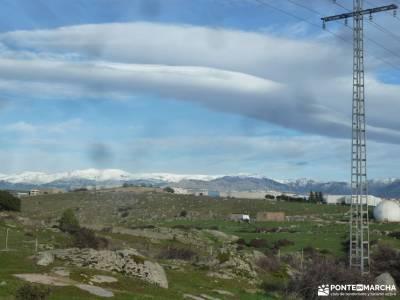 Puente de la Marmota - Parque Regional de la Cuenca Alta del Manzanares senderismo cañon rio lobos e